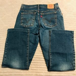 Levi's 550 MOM Jeans Classic Relaxed Bootcut sz 10